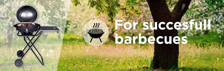 Barbeque for garden, terrace or balcony