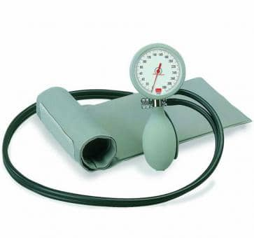 boso K2 Mechanical Blood Pressure Device with Velcro Cuff gray