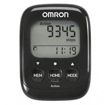 OMRON Walking Style IV Compteur de Pas noir (HJ-325-EK)