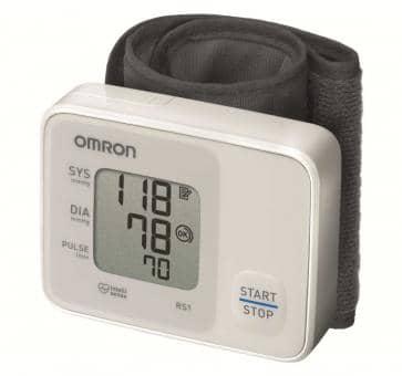Tensiomètre OMRON RS1 mesure de la pression artérielle