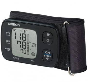 Return OMRON RS6 (HEM-6221-D) wrist blood pressure monitor