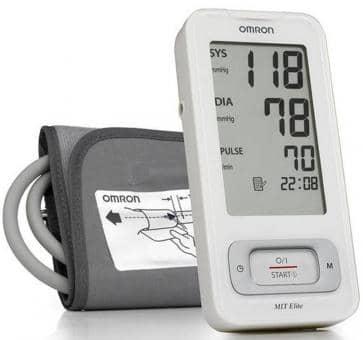 OMRON MIT-Elite (HEM-7300-WE) Tensiomètre Electronique Bras