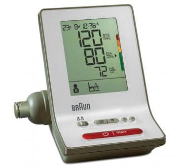 Braun ExactFit 3 Upper Arm Blood Pressure Monitor BP6000